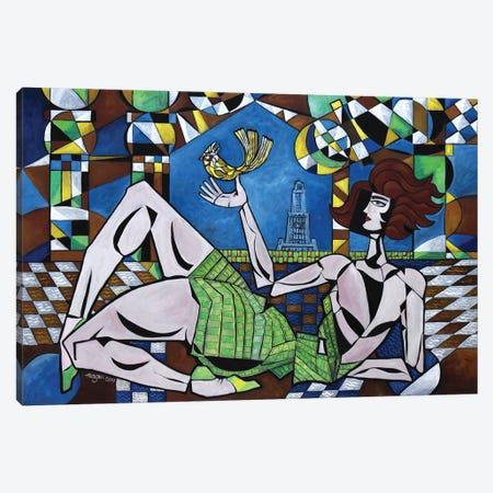 Alexandria Adieu Canvas Print #NAA67} by Nagui Achamallah Canvas Art Print