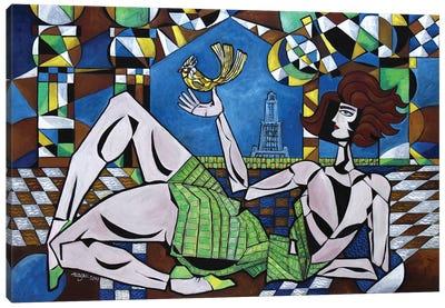 Alexandria Adieu Canvas Art Print