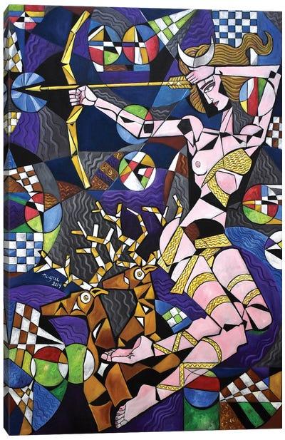 Diana Canvas Art Print