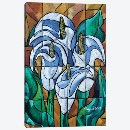 Cala Lily Canvas Print #NAA6} by Nagui Achamallah Canvas Print