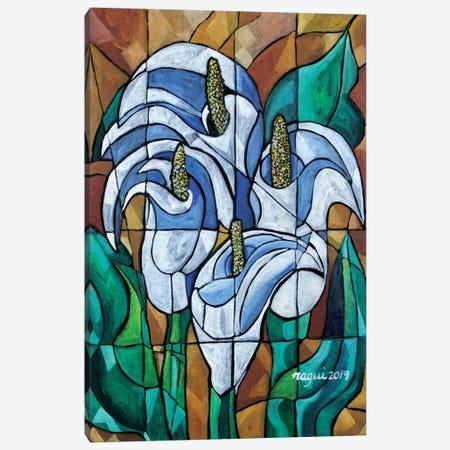 Cala Lily Canvas Print #NAA6} by Nagui Achamallah Canvas Print