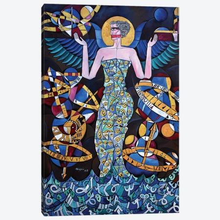 Hypatia Of Alexandria; Icon Canvas Print #NAA71} by Nagui Achamallah Art Print