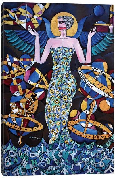 Hypatia Of Alexandria; Icon Canvas Art Print