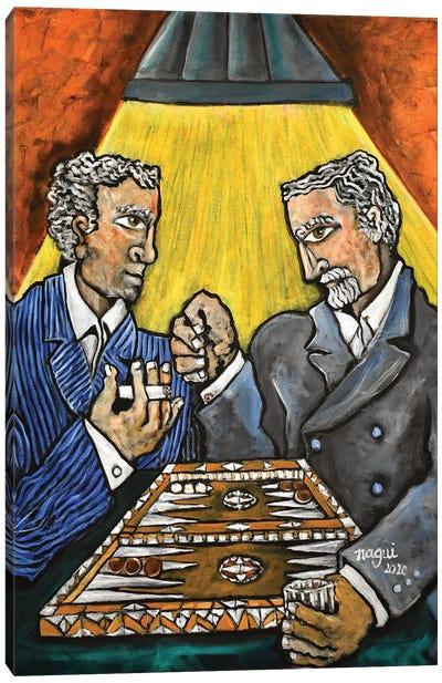 Backgammon Canvas Art Print