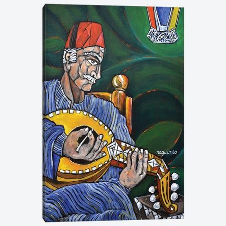 Egyptian Oud 2 Canvas Print #NAA89} by Nagui Achamallah Canvas Artwork