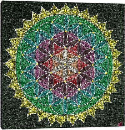 Mandala Flower Of Life III Canvas Art Print