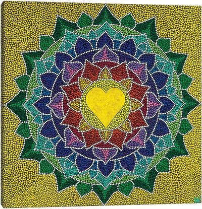 Mandala Heart I Canvas Art Print