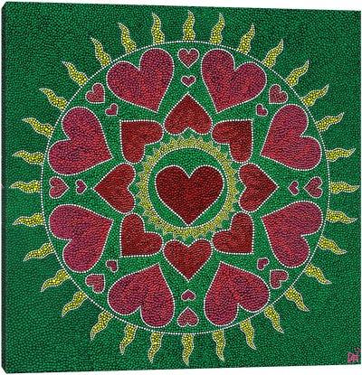 Mandala Heart II Canvas Art Print