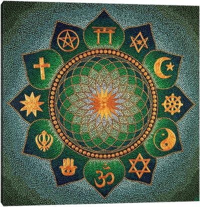 Mandala Religion Canvas Art Print