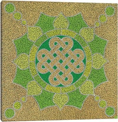 Eternity Geometric II Canvas Art Print