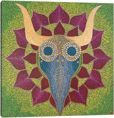 Dr. Plague Mandala Canvas Art Print