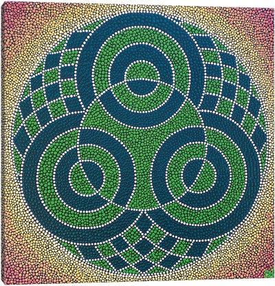 Three Circles Canvas Art Print