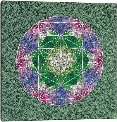 Geometric Canvas Art Print