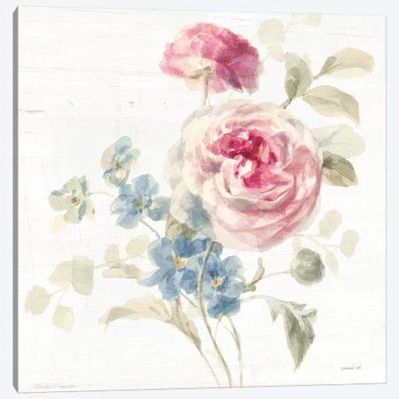 Cottage Garden II Crop Canvas Print #NAI105} by Danhui Nai Canvas Art Print
