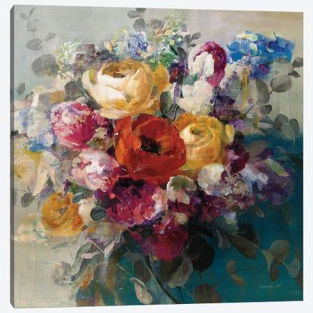 Fall Bouquet Orange Rose Canvas Print #NAI107} by Danhui Nai Canvas Print