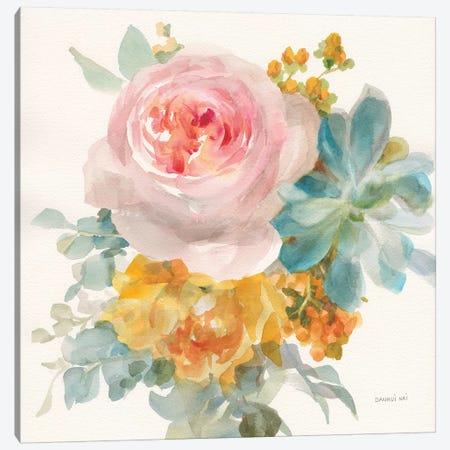Garden Bouquet II Canvas Print #NAI110} by Danhui Nai Canvas Print