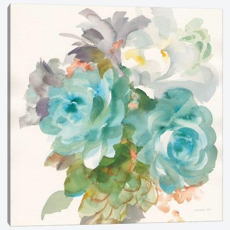 Garden Bouquet III Canvas Print #NAI111} by Danhui Nai Canvas Print