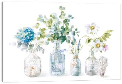 Beach Flowers I Canvas Art Print