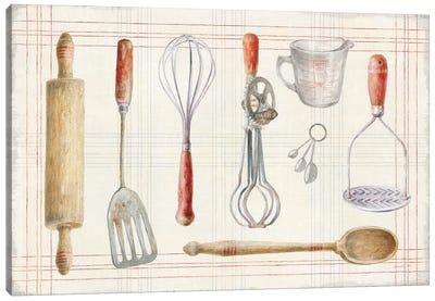 Floursack Kitchen IX Canvas Art Print
