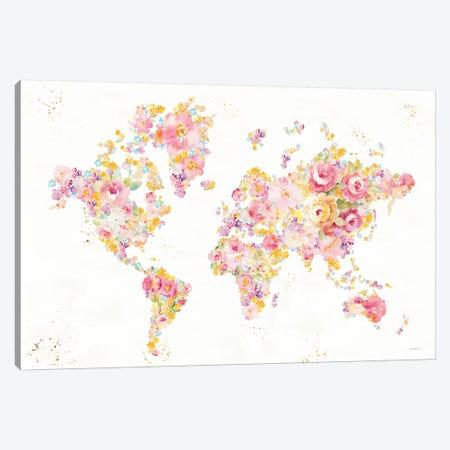 Midsummer World - No Border Canvas Print #NAI133} by Danhui Nai Canvas Art Print