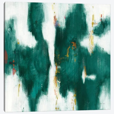 Green Texture I 3-Piece Canvas #NAI138} by Danhui Nai Art Print