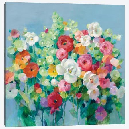 June Beauties Canvas Print #NAI150} by Danhui Nai Canvas Art Print