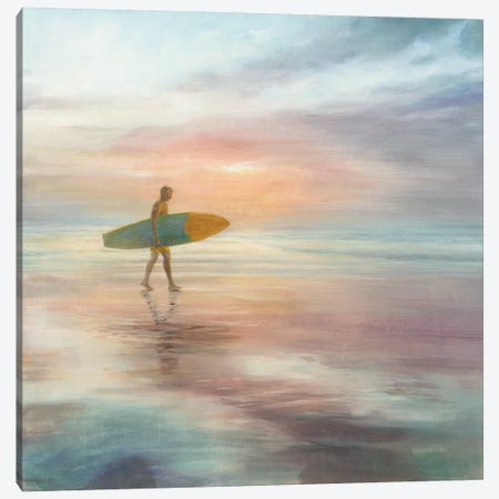 Surfside Canvas Print #NAI157} by Danhui Nai Canvas Artwork