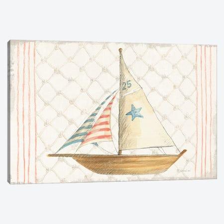Floursack Nautical XII Canvas Print #NAI163} by Danhui Nai Canvas Artwork