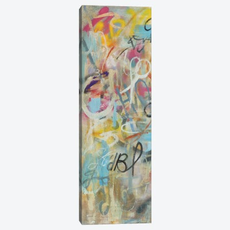 Graffiti Freedom Panel I Canvas Print #NAI164} by Danhui Nai Art Print