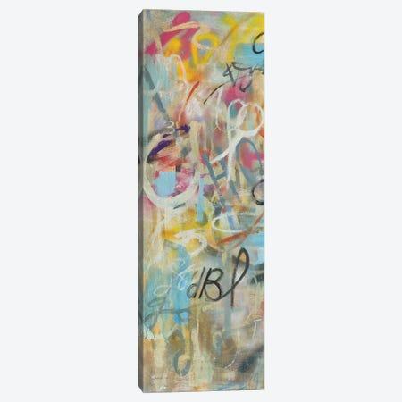 Graffiti Freedom Panel I Canvas Print #NAI164} by Danhui Nai Art Print
