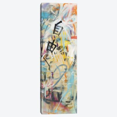 Graffiti Freedom Panel II Canvas Print #NAI165} by Danhui Nai Canvas Print