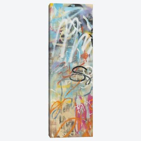 Graffiti Love Panel I Canvas Print #NAI166} by Danhui Nai Canvas Art Print