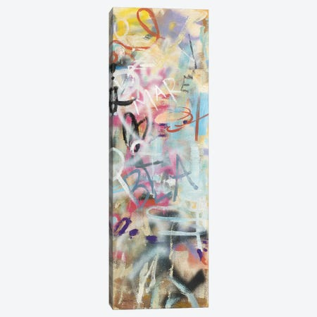 Graffiti Love Panel II Canvas Print #NAI167} by Danhui Nai Art Print