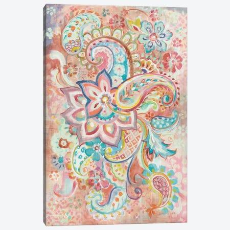 Paisley Galore Canvas Print #NAI170} by Danhui Nai Art Print