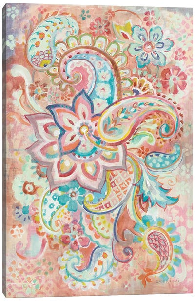 Paisley Galore Canvas Art Print