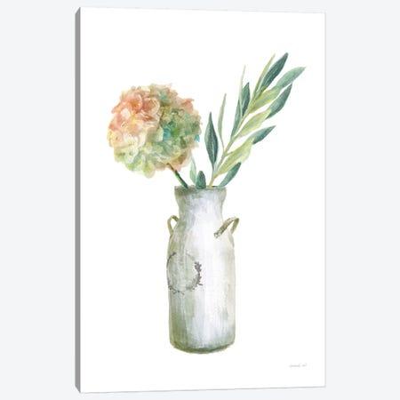 Floursack Home III on White Canvas Print #NAI181} by Danhui Nai Canvas Wall Art