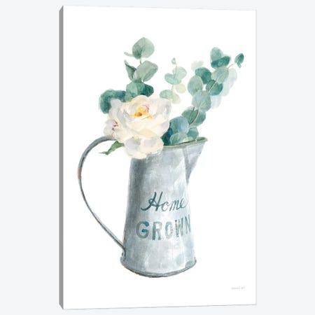 Floursack Home V on White Canvas Print #NAI184} by Danhui Nai Canvas Art Print