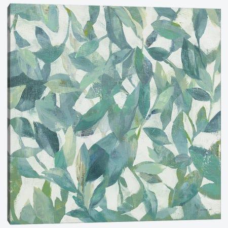 Summer Garden Greenery I Light Canvas Print #NAI209} by Danhui Nai Canvas Print