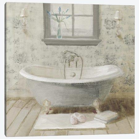 Victorian Bath I Neutral Canvas Print #NAI219} by Danhui Nai Canvas Wall Art
