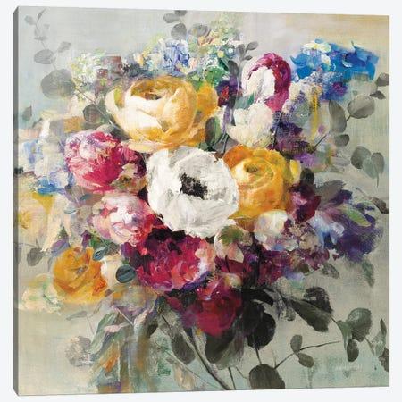 Fall Bouquet Neutral Canvas Print #NAI235} by Danhui Nai Canvas Print
