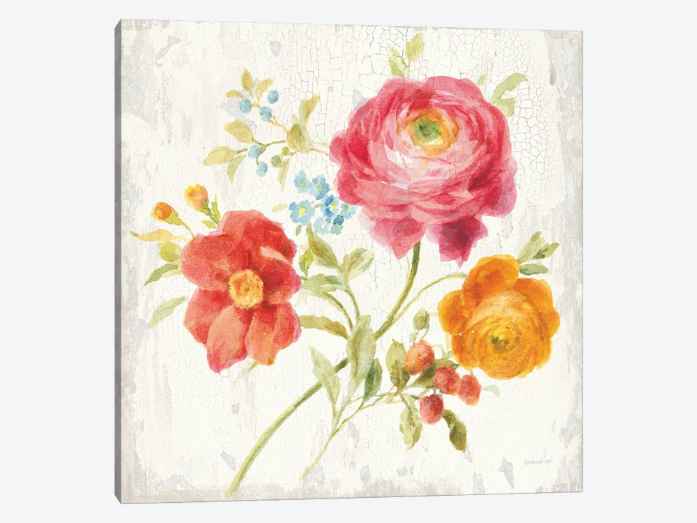 Full Bloom III by Danhui Nai 1-piece Canvas Print