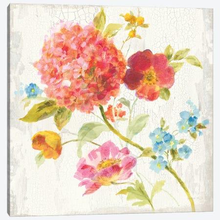 Full Bloom IV Canvas Print #NAI252} by Danhui Nai Canvas Art