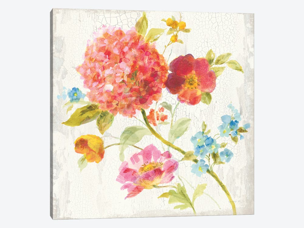 Full Bloom IV by Danhui Nai 1-piece Canvas Wall Art