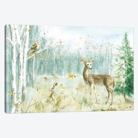 Meadows Edge I Canvas Print #NAI258} by Danhui Nai Canvas Art