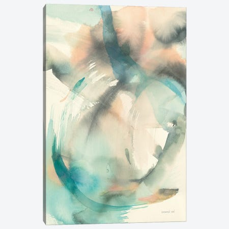 In Motion II Canvas Print #NAI25} by Danhui Nai Art Print
