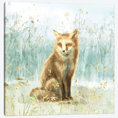 Meadows Edge IV Canvas Print #NAI262} by Danhui Nai Art Print