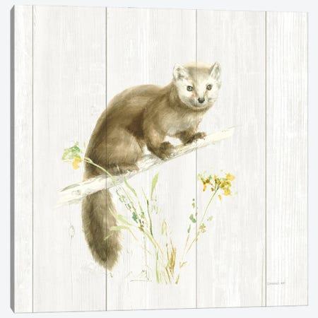 Meadows Edge V on Wood Canvas Print #NAI265} by Danhui Nai Canvas Wall Art
