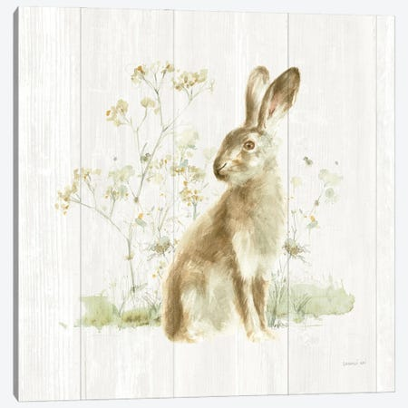 Meadows Edge VII on Wood 3-Piece Canvas #NAI269} by Danhui Nai Canvas Art Print
