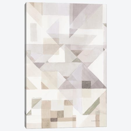 Try Angles III Neutral Sage Canvas Print #NAI273} by Danhui Nai Canvas Art