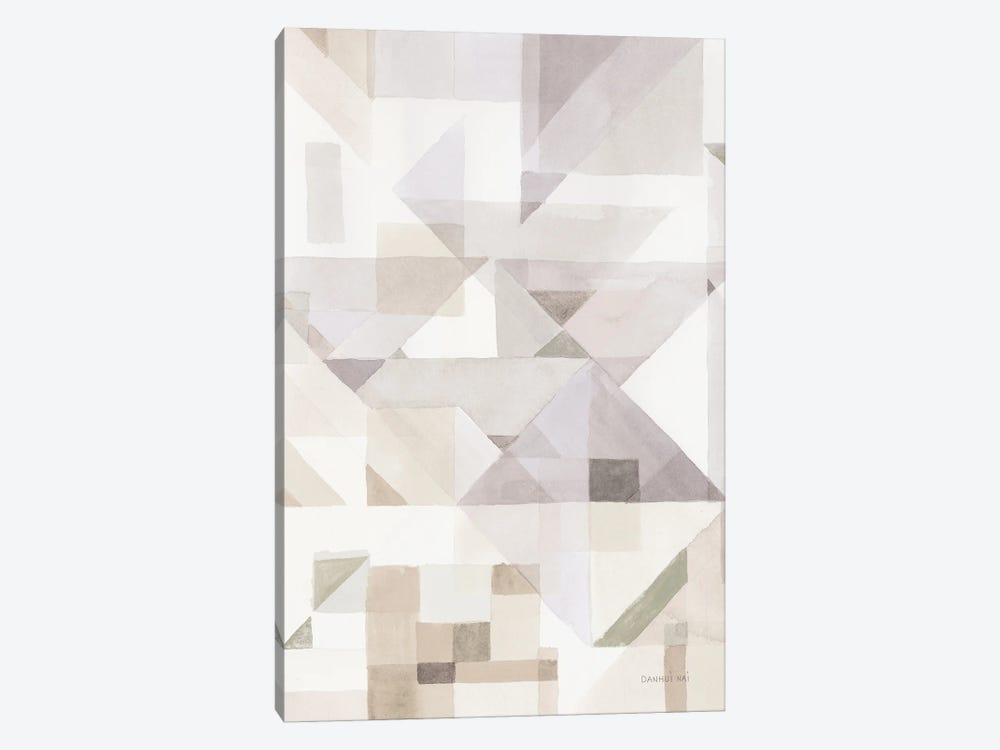 Try Angles III Neutral Sage by Danhui Nai 1-piece Canvas Print